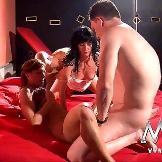 MMV Films German swingers sex in a sex club